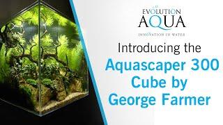 Evolution Aqua The Aquascaper 300 Cube Aquarium and Cabinet