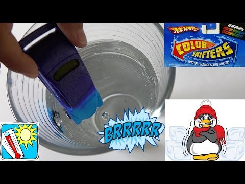 Opening Hot Wheels Cars Color Shifters | Playing Fun For Children Hot And Cold Water.