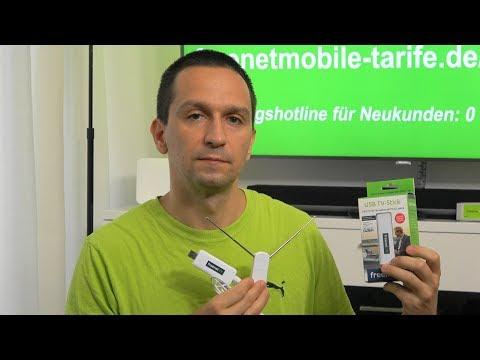 freenet TV USB-Stick für Laptops - mobil Fernsehen ohne Internet