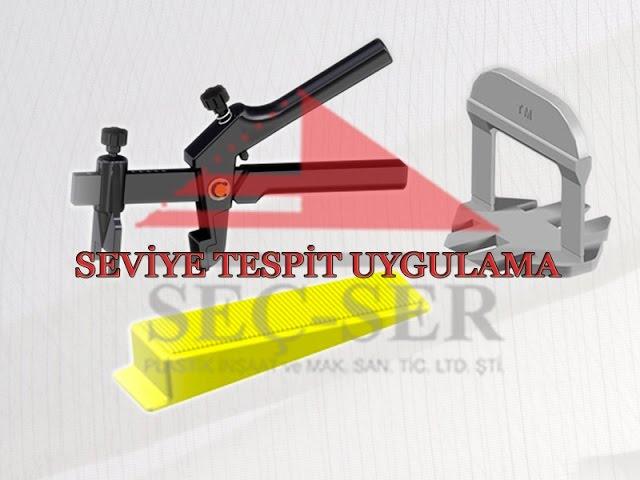 Seç-Ser Plastik Seviye Tespit Artısı - Uygulama (Yeni Ürün)