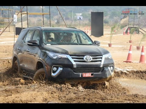 New Toyota Fortuner Off-road Drive Review