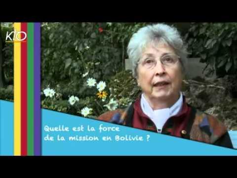Soeur Brigitte Flourez - La mission en Bolivie