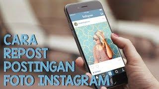 Cara Repost Foto Instagram dengan Mudah