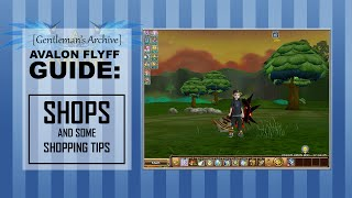 Avalon Flyff Guide:  Shops and Some Shopping Tips