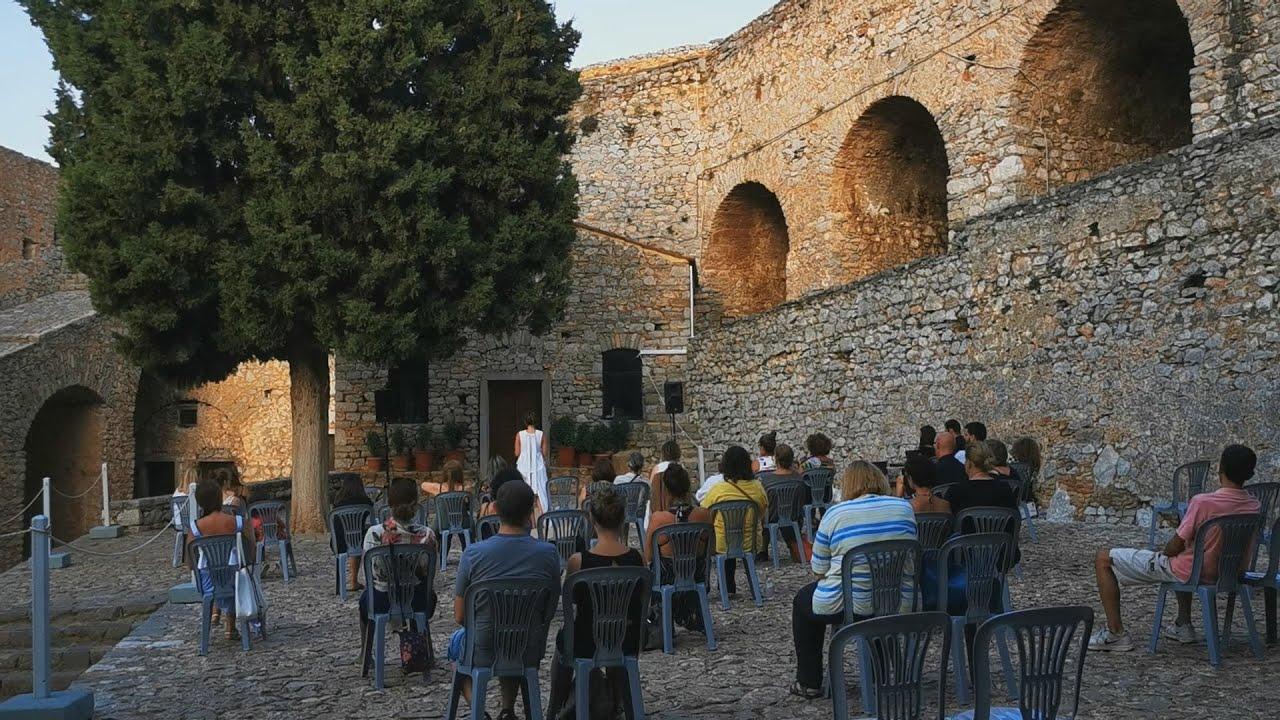 Παράσταση του εθνικού θεάτρου στο κάστρο Παλαμήδι