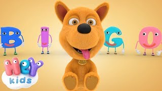 Bingo Song   The Dog Song For Kids   HeyKids