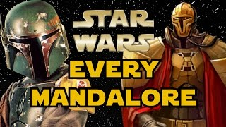 Every Mandalore In Star Wars History   Star Wars Explained
