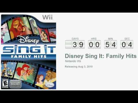 Disney Sing It : Les Plus Belles Chansons des Films Disney Wii