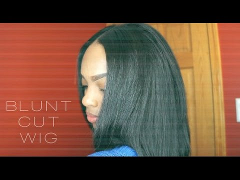 Blunt Cut Quick U-part Wig   Easy and Affordable