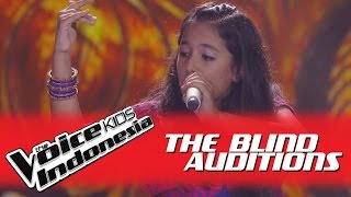 "Nitya ""Bole Chudiyan"" I The Blind Auditions I The Voice Kids Indonesia GlobalTV 2016"
