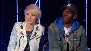 Sister Bliss and Maxi Jazz talk about the track 'Feel Me' from the new album 'The Dance'.