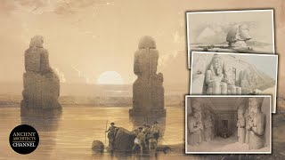 Breathtaking, Iconic And Rare Historical Pictures Of Ancient Egypt: 1838-1850 | Ancient Architects