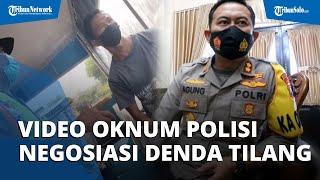 Viral Video Oknum Polisi Terima Uang Negosiasi Tilang di Pos Penyekatan, Kapolres Jombang Buka Suara