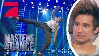 Patrick aka Patrox rasiert! Was ein Auftritt!   Masters of Dance   ProSieben