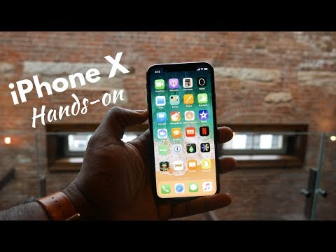 iPhone X Hands-on Experience!