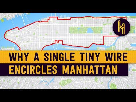 Proč Manhattan obepíná nepatrný drát
