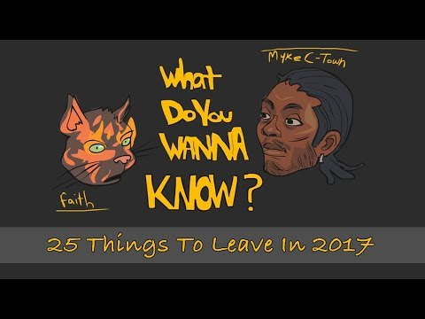 25 Things To Leave In 2017