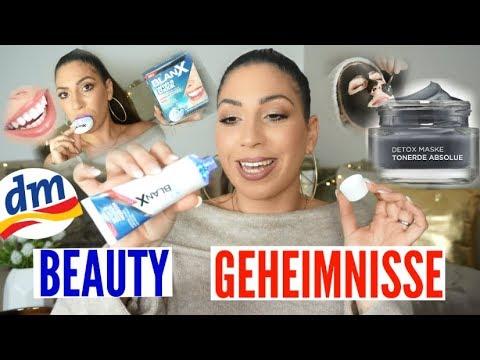 Dm Beauty GEHEIMNISSE aus der DROGERIE | Weiße Zähne aufhellen | Haare | Schöne Haut |MAYRA JOANN