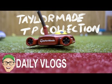 TAYLORMADE TP COLLECTION PUTTERS RED