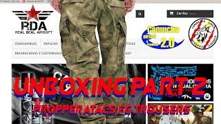Unboxing RDA (part 2) review Propper ATACS FG ACU Trousers (English sub rdy) - Pantalón - Camuchu