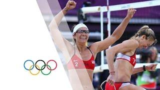 Women's Beach Volleyball Semi-Finals - USA v CHN   London 2012 Olympics