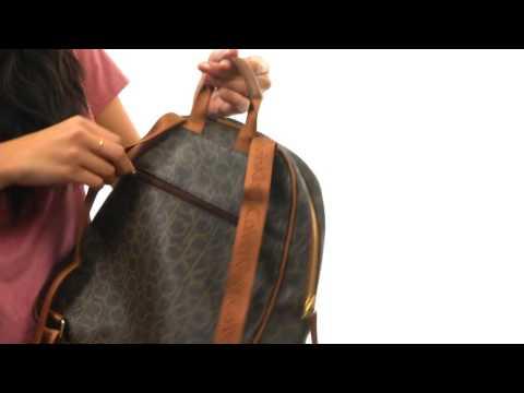 Calvin Klein Dorothy Monogram Backpack SKU:8929853