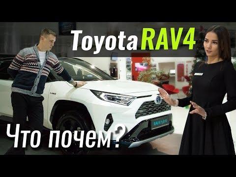 Toyota  Rav 4 Кроссовер класса J - тест-драйв 5