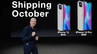 Apple Confirms IPhone 12 Delay & New 10.8 IPad Coming Soon!