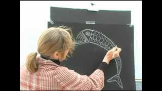 How To Draw A Creature Of The Deep By Jan Brett