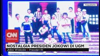 Ketika Presiden Jokowi Main Tebak Gambarnya di UGM ; Nostalgia Presiden Jokowi di UGM