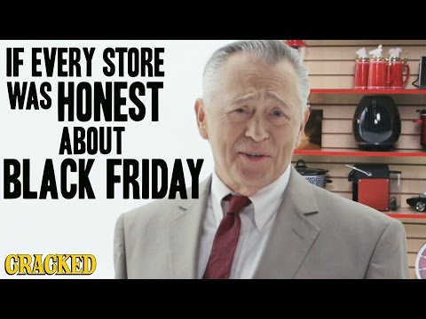 Honest Black Friday Ad