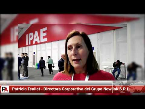 CADE 2017: Entrevista a Patricia Teullet, directora corporativa de grupo Newlink S.R.L.