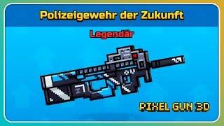 Polizeigewehr der Zukunft gekauft! Beste Primär Waffe? | Pixel Gun 3D [Deutsch]