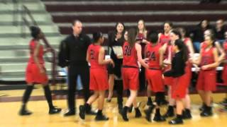 Frisco Liberty Varsity Girls Basketball vs Heritage 02 05 2016