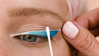 Blue Eyeliner Makeup TUTORIAL