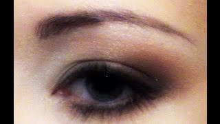 "Eye Makeup ""Caramel"", video tutorial"