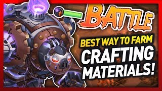Knights and Dragons - The BEST WAY TO FARM CRAFTING MATERIALS!! (D3C4 5h4rds) (MAX DECATRON ARMOR)