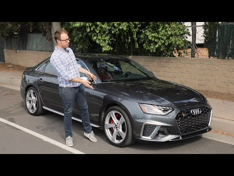 2020 Audi S4 Test Drive Video Review