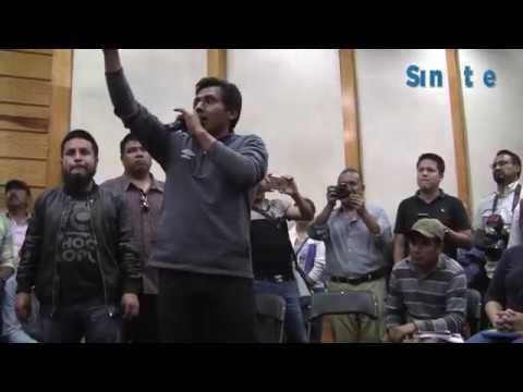Manifestantes piden intervención del congreso