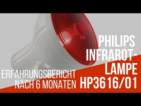 Philips InfraPhil Infrarot-Lampe HP3616/01 - Gut oder schlecht - Erfahrungsbericht