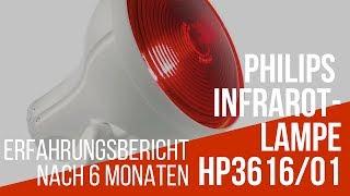 Gerstenkorn & Hagelkorn verschwunden mit Philips InfraPhil Infrarot-Lampe - Erfahrungsbericht