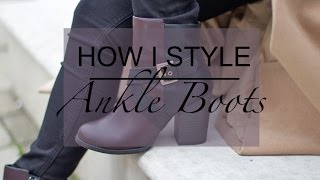 How I Style Ankle Boots (New Look) | PETITESIDEOFSTYLE