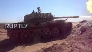 Syria: SAA shells strike IS positions in Deir ez-Zor