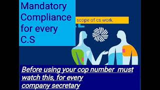work scope and compliance requirements of company secretaries