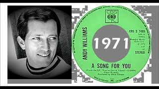 Andy Williams - A Song for You 'Vinyl'