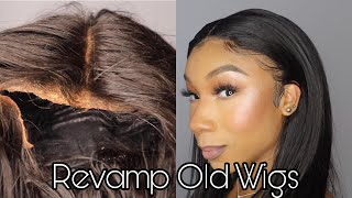 Make Your OLD Wigs look BRAND NEW! - Revamp, Reconstruction, Restyle, Lace Frontal Maintenance