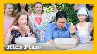 Parents Go on Outrageous Date Planned by Their Daughter | Kids Plan | HiHo Kids