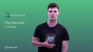 Vue Storefront video