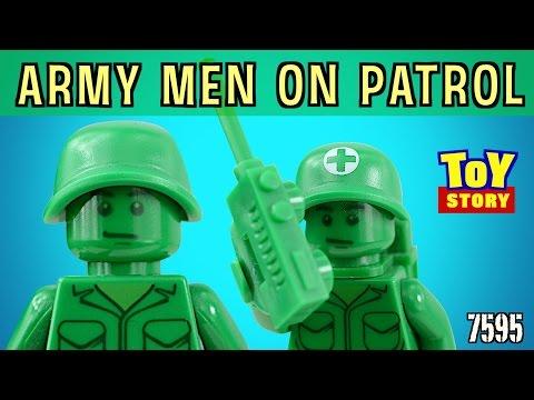 Vidéo LEGO Toy Story 7595 : Les petits soldats en patrouille