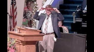 Alabama Pastor Cuts Nike Gear During Sermon